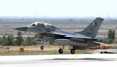 Pakistan Air Force's F-16 jet shot down by Indian forces