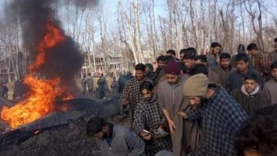 Indian Air Force aircraft crashes in Jammu and Kashmir's Budgam district
