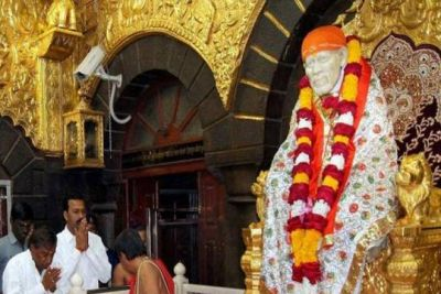 In 11 Days, Shirdi Sai Baba Temple gets the donation of  Rs. 14.54 Crore