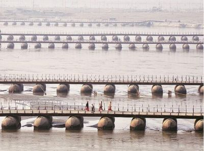 Kumbh 2019: Prayagraj gets the Largest temporary city of World, has 250 Km long roads, 22 bridges