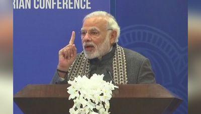 Prime Minister Narendra Modi addresses the first PIO Parliamentary Conference shed lights on Vasudhaiva Kutumbakam