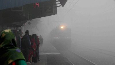 22 trains have been cancelled, 40 trains rescheduled  due to low visibility: Delhi