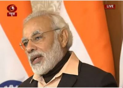 PM Modi says 'We want to make our youth job creators' addressing at 22nd NYF
