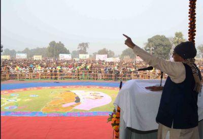 Vikas Sameeksha Yatra:  CM Nitish laid stone of 63 schemes worth Rs 228 crore
