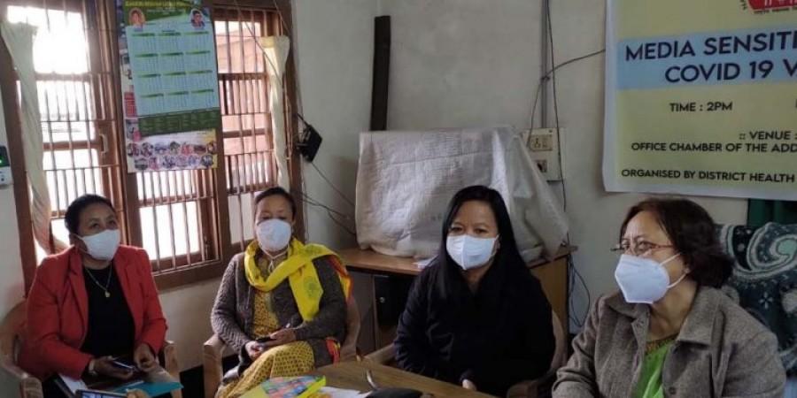 असम के इस शहर में शुरू हुआ कोरोना टीकाकरण अभियान
