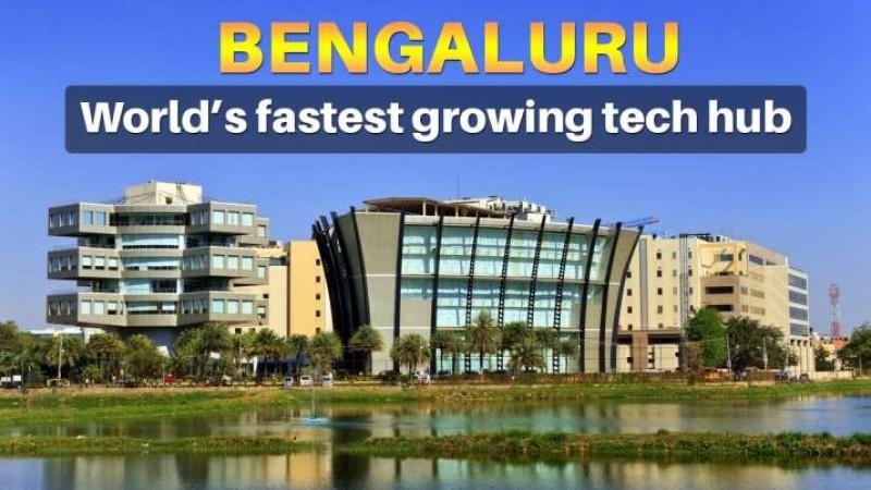 दुनिया का सबसे तेजी से विकसित टेक हब बना बेंगलुरु: रिपोर्ट   NewsTrack  Hindi 1