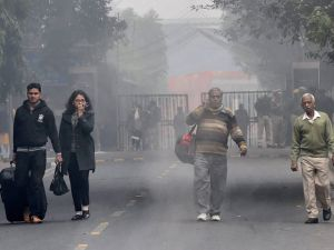 New Delhi: 8.9 degree Celsius recorded in morning today