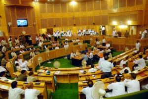 NC MLA Sagar staged walkout from J&K Assembly