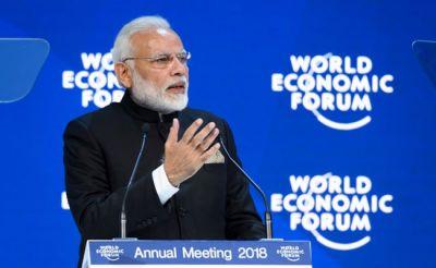 Come to India, invest in India said PM Modi at WEF-2018