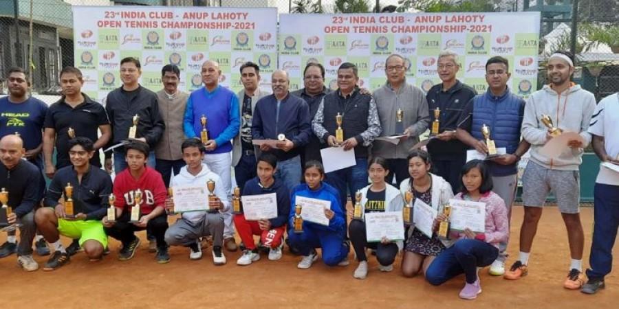 इन खिलाड़ियों ने इंडिया क्लब-अनूप लाहोटी टेनिस चैम्पियनशिप 2021 में  जीते खिताब