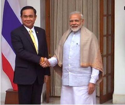 Delhi:PM Modi met Thailand Prime Minister Prayut Chan-o-cha