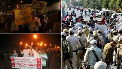 Manipur and Mizoram boycott Republic Day celebrations for protesting against the citizenship amendment bill