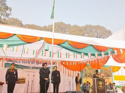 R-day:India gifts ambulances, educational materials to Nepal