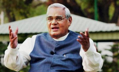 A man calls himself the son of former PM Vajpayee