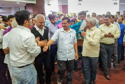 After the Supreme Court order, Kejriwal looked into the projects of government