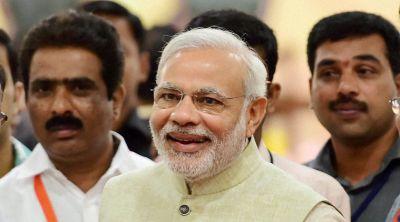 PM Modi meets new IAS officers, said