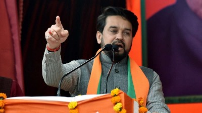 Anurag Thakur takes innings as Minister of Sports & Youth Affairs