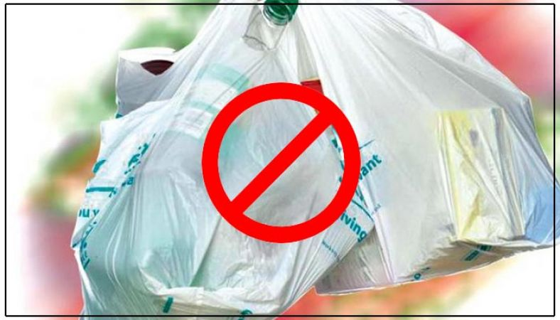 UP government ordered to ban below 50 microns plastic bags, Rs 4000 will be charged by offenders