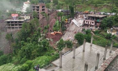 Building collapses In Himachal Pradesh, three killed