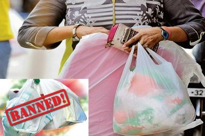 Effect of Polythene ban: 298 kg polythene seized on the First day
