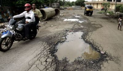 Minister of Maharashtra spoke on death in the road accidents due to pit holes