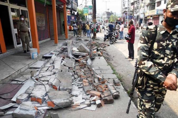 एक माह में लगातार इतने बार पूर्वोत्तर भारत में महसूस किए गया भूकंप के झटके