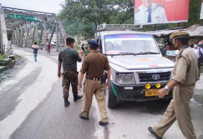 सिक्किम से बंगाल में प्रवेश करने वाले लोगों की होगी जांच