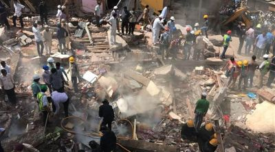 4-storey building collapse in Chennai, one killed, 23 injured