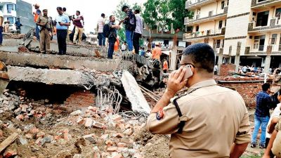 Five-storey building collapses in Ghaziabad, 2 killed, 9 injured