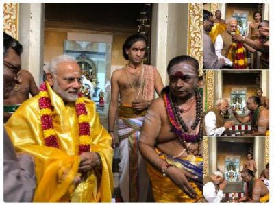 Day 3 in Singapore : From mosque to temple PM Modi visits historical places