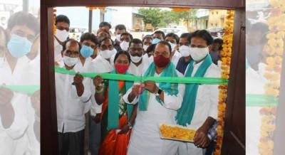 Minister Allola Indrakaran Reddy  inaugurated  Rythu Vedika scheme for monsoon cultivation