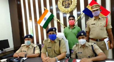 CPI-Maoist surrender before Mulugu Superintendent of Police