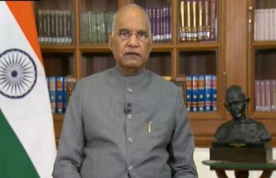 President Ram Nath Kovind condoles death of Prof Radha Mohan