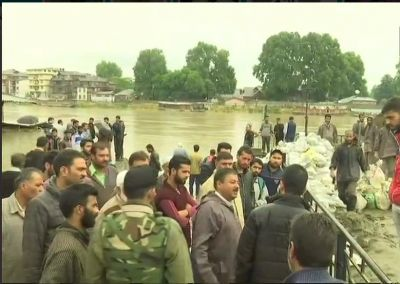 Flood declared in JK: People in low-lying areas to be extremely alert