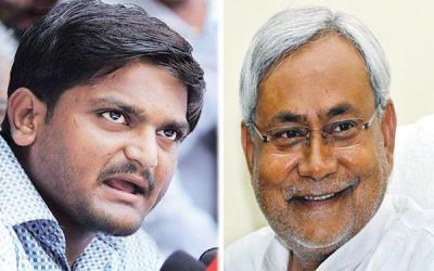 Hardik Patel parted his ways from Bihar's Chief Minister Nitish Kumar