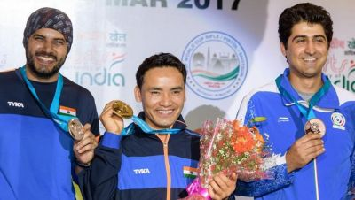 Jitu Rai won gold and Amanpreet stands with silver medal in 'ISSF World Cup'