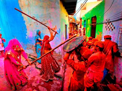 Different forms of Holi celebrated in India