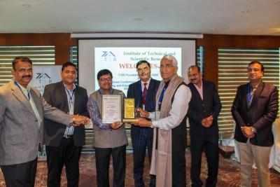 Professor S.K. Jhajharia, Bhartiya Skill Development University Receives Life Time Achievement Award