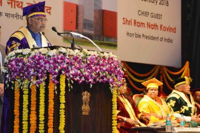 President Kovind to be the chief guest at the AMU's 65th annual convocation today