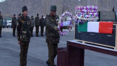 Indian army officer died in Ladakh