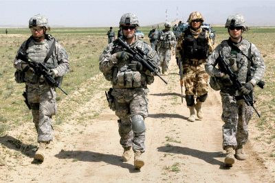 US troops came for special training in India