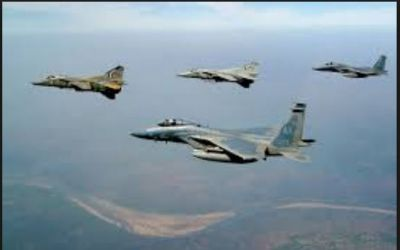 IAF carried out a Major Combat Drill  across Pakistan Border