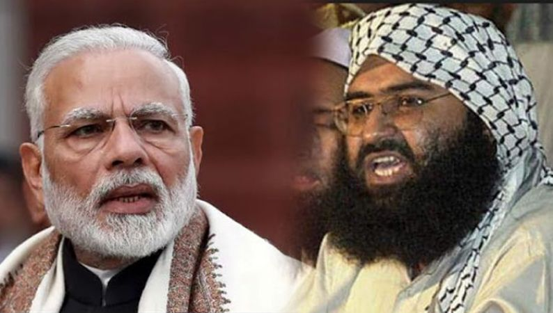Masood Azhar release first statement after IAF airstrike challenged to PM Modi