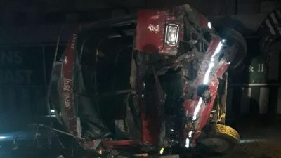 Yamuna Expressway: Two killed and 22 injured in a road accident