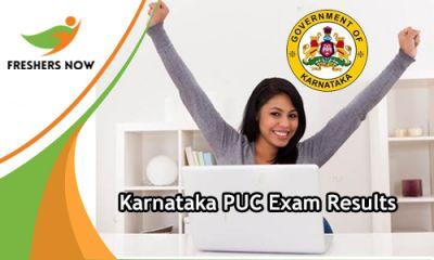 Karnataka First PUC Result 2019 released