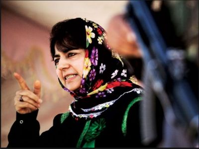 Mehbooba Mufti raised another controversial statement on cross-border firing