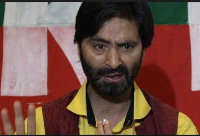 JLKF leader Yasin Malik Banned By the centre on zero tolerance against terrorism policy