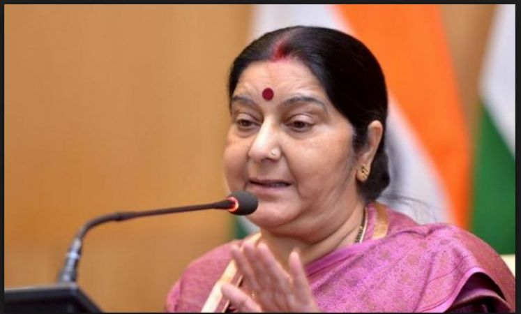 Sushma Swaraj ask High Commissioner on Hindu girls' conversion to Islam before marriage