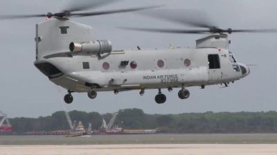 Major boost to Indian Air Force, to add first four heavy-lift Chinook helicopters