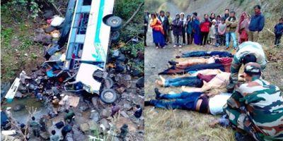 10 people dies as bus falls into stream in Senapati